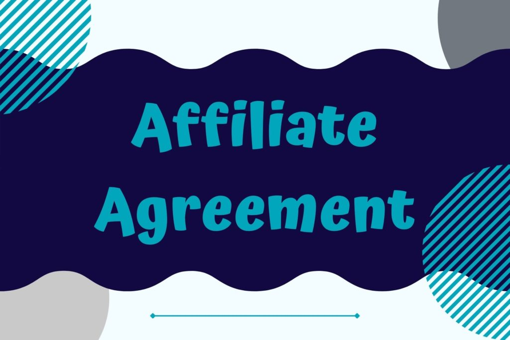 Graphic for the Affiliate Agreement Legal Template