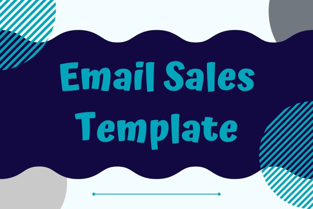Graphic for th Email Sales Template Resource