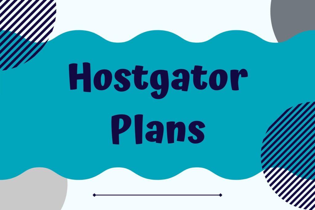 Graphic for Hostgator Hosting Plans