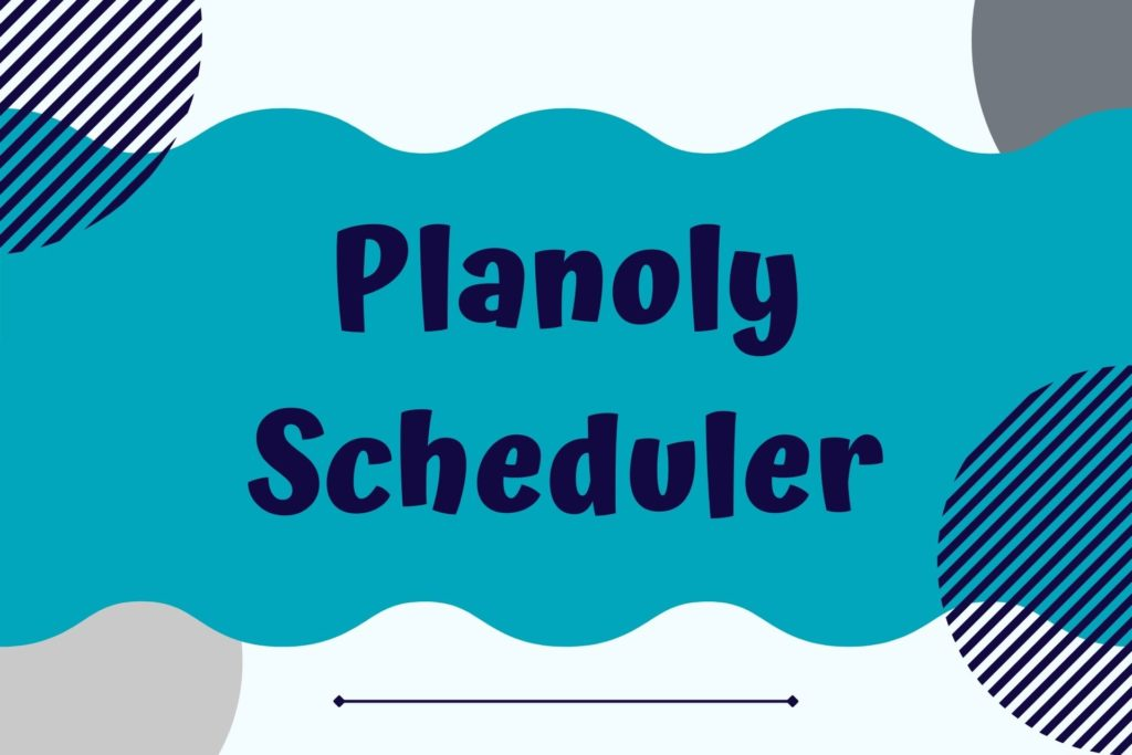 Graphic for Planoly Scheduler