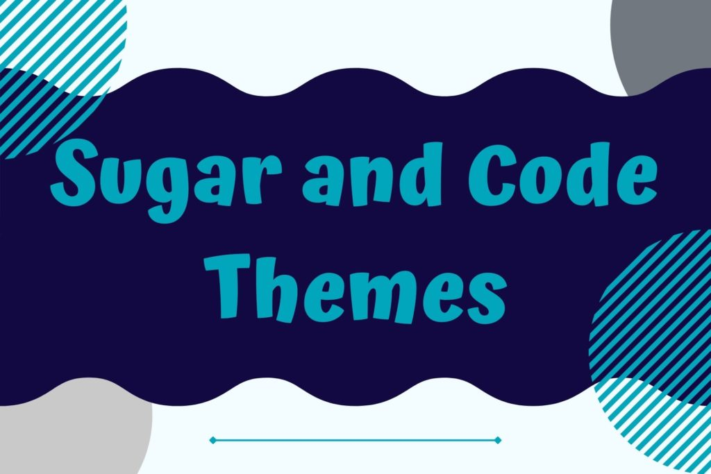 Graphic for Sugar and Code WordPress Themes