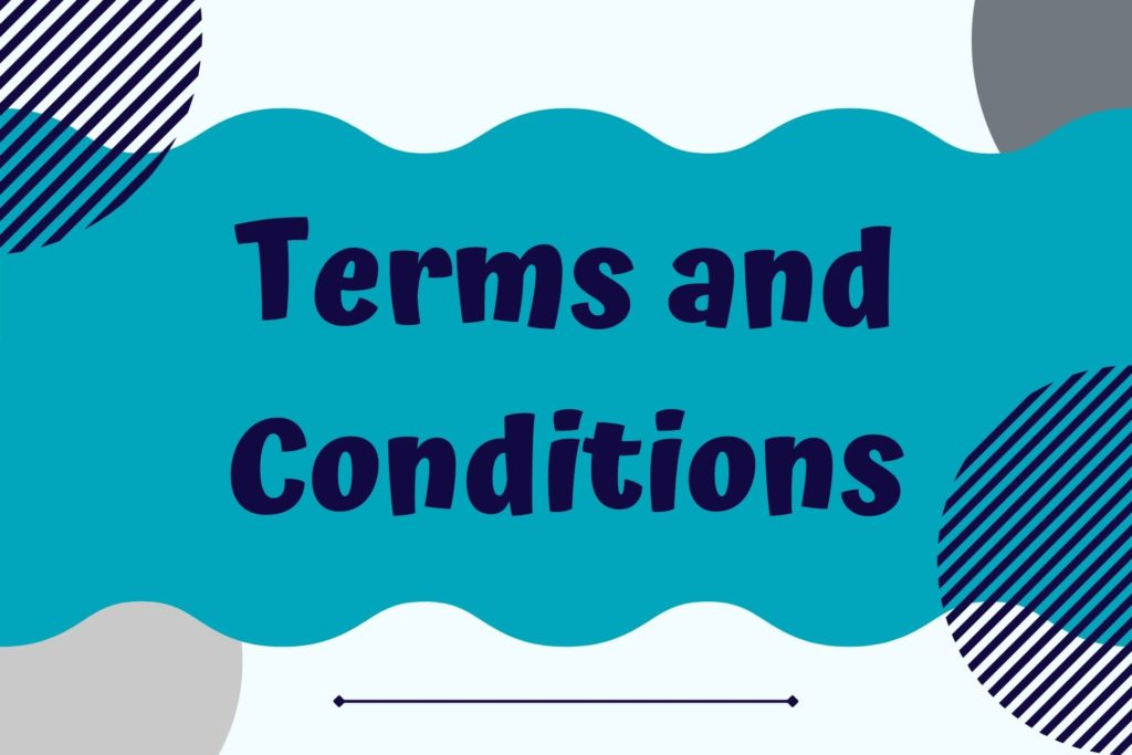 Graphic for Terms and Conditions Legal Template